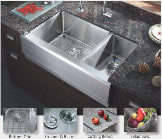 Vintage Kitchen Yelp: 70/30 FARMER SINK COMBO